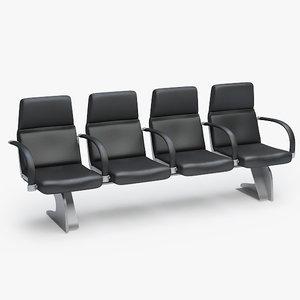 3dsmax airport chair