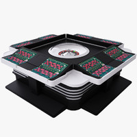 obj electro-mechanical roulette table integra