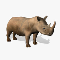 rhinoceros animation 3d max
