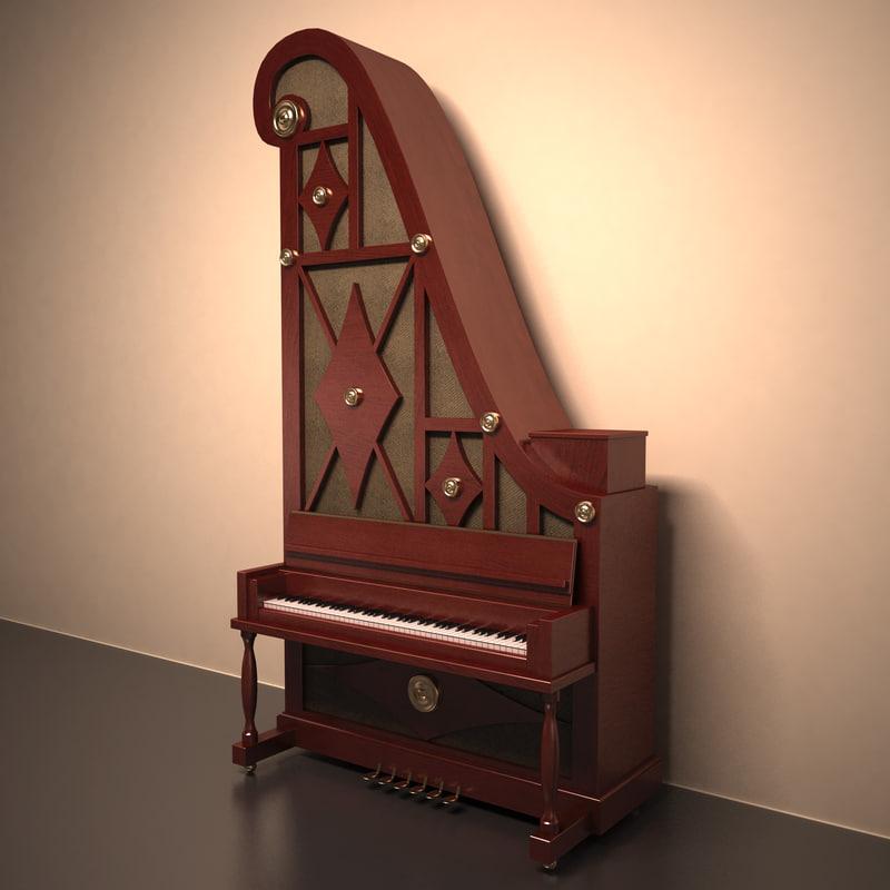 giraffe piano max
