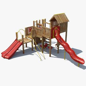 3ds max big playground