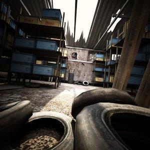max warehouse games environment