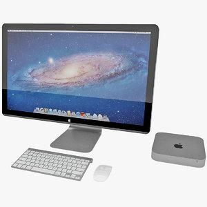apple mac mini 3ds