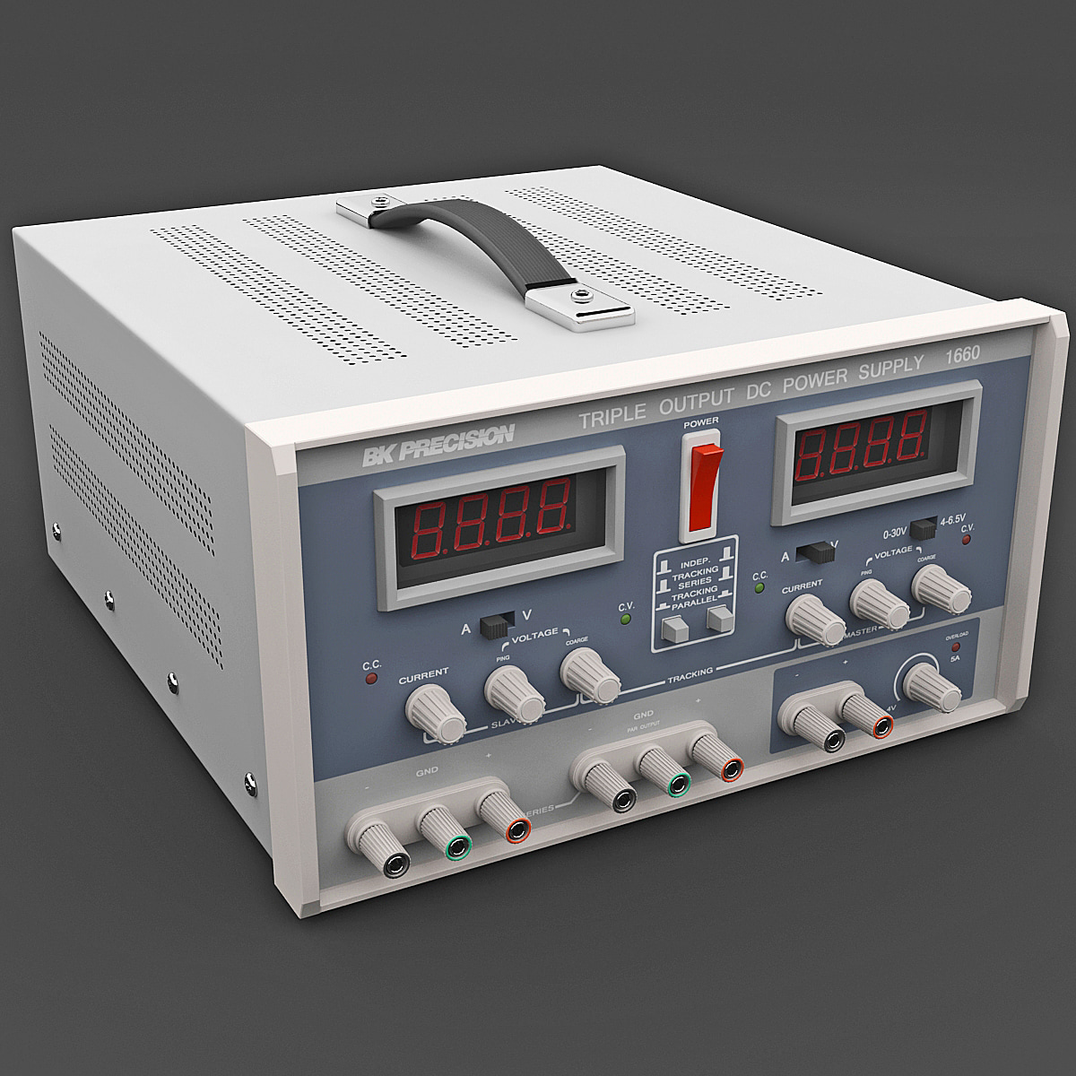 3d model bk precision 1660 power