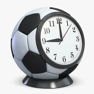 football alarm clock 3ds