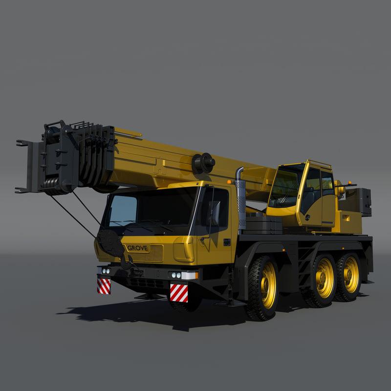 3d grove gmk3055 model
