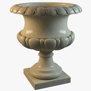 3d vase classical