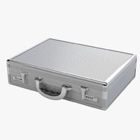 3ds max code aluminum briefcase