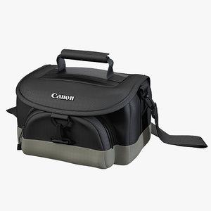 3d model camera bag