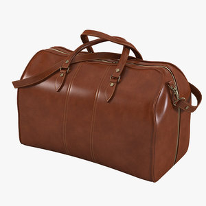max leather travel bag