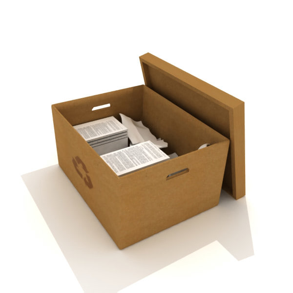 3dsmax recycle box