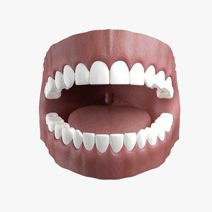 x human gums