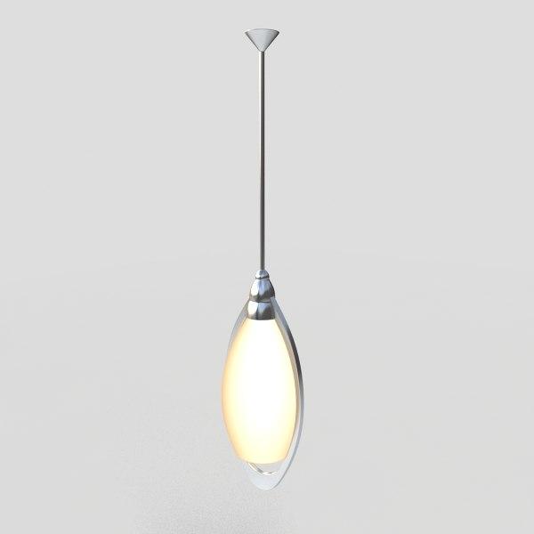 pendant light fixture 3ds