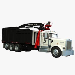 w900 debris loader 3d lwo