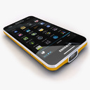 Samsung Galaxy Beam 3D models