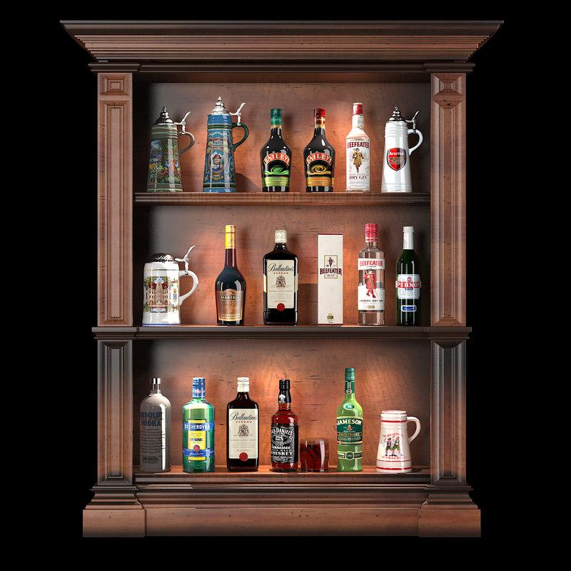 max set bar bottles