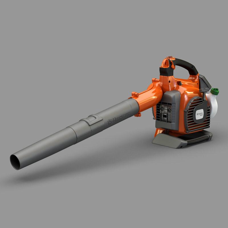blower husqvarna 125bvx 3d model
