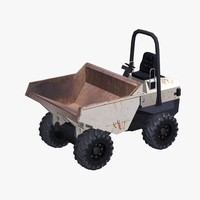 3d model of dumper truck