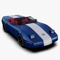 3d chevrolet corvette grand sport