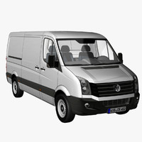 VW Crafter Van 2012 Techo Normal