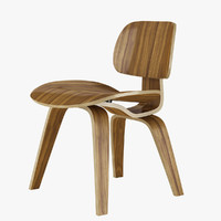 eames dcw dining chair 3d 3ds