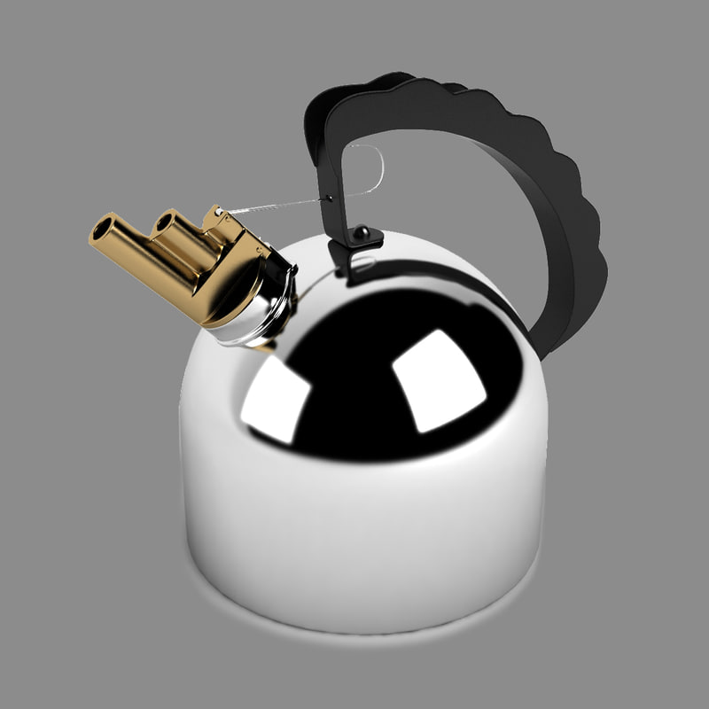 3d model kettle richard sapper