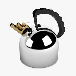3d model kettle richard sapper