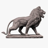 maya sculpture lion stone