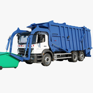 max axor garbage truck