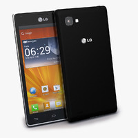 3d new lg optimus 4x model