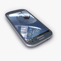 New Samsung Galaxy S3 Smartphone Blue