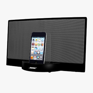 3d bose ipod dock touch model