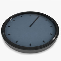 3d clock animations model