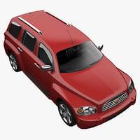 chevrolet hhr 2011 3d model