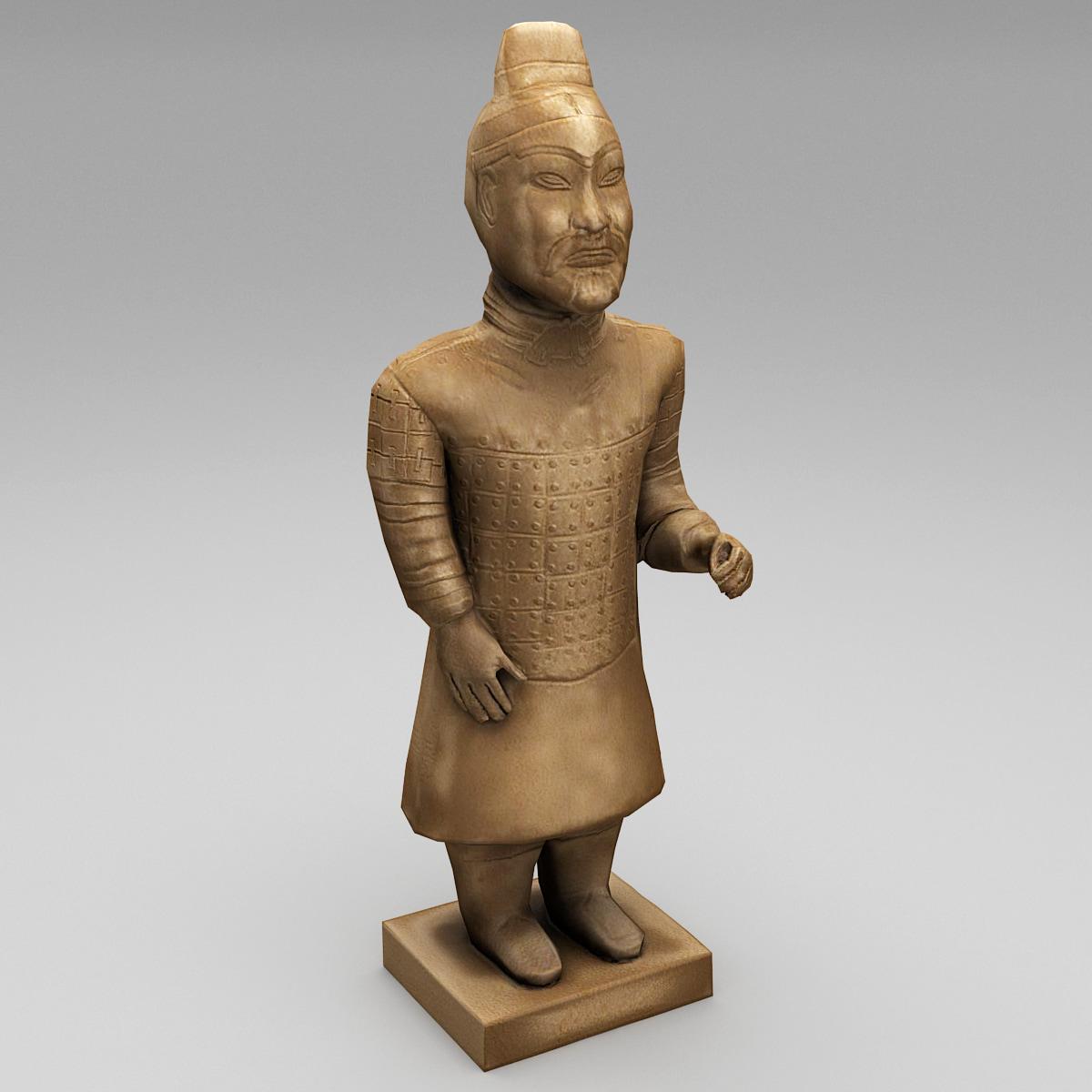 3d china terracotta warrior 2