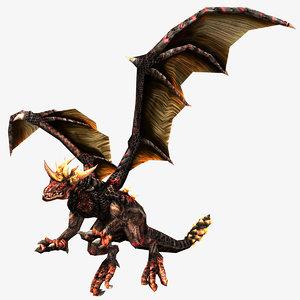 3ds max fantasy dragons