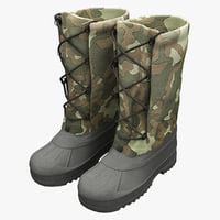 Military Hunter Boots