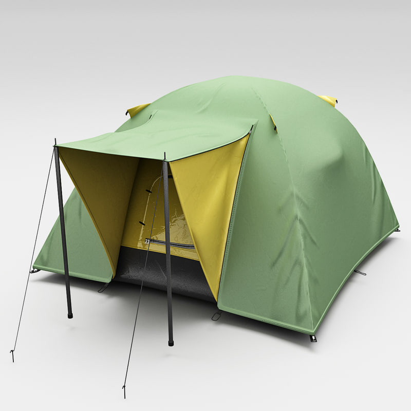 3ds max outwell tent nevada 3