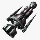 gunship 3D models
