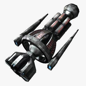 3ds max strike craft