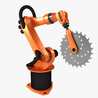 3ds kuka mechanical arm