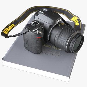 obj dslr camera nikon d60