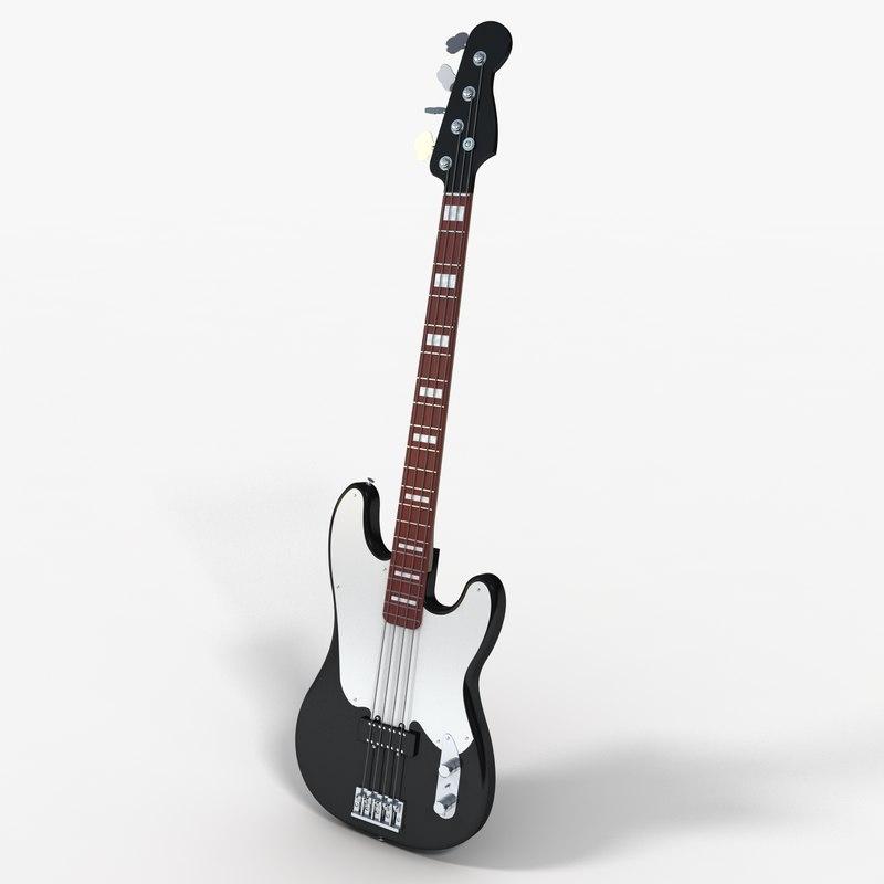 bass guitar 3ds