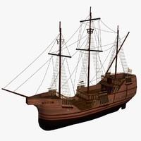 3d karaka historic dubrovnik model