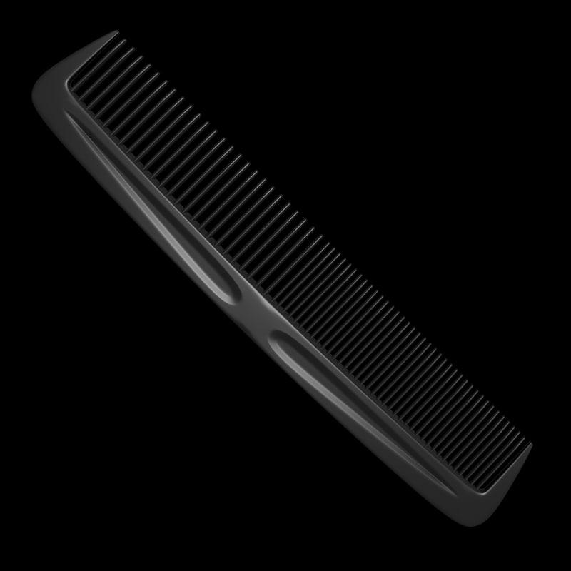 3dsmax comb barber