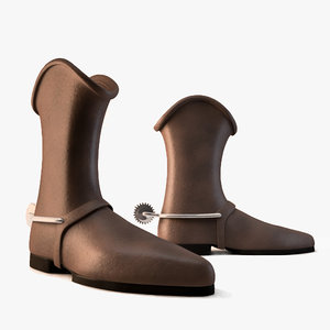c4d cowboy boots