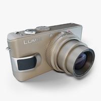 panasonic camera lens 3d x