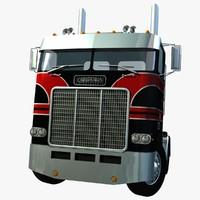lwo freightliner powerliner truck tandem