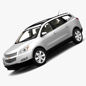 chevrolet traverse 2009 3d model