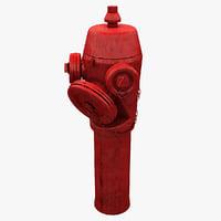 hydrant 3 3d model